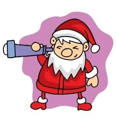 Santa character Christmas collection stock vector