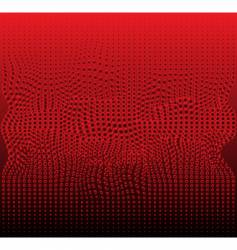 red bubbles vector image