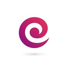 Letter c e logo icon design template elements vector