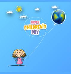 1 june international children day background vector