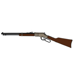 Classic repeating rifle vector