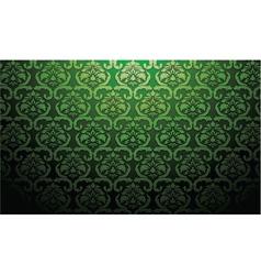 Damask web banner vector