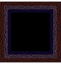 Frame dots vector image