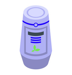 ment air freshener icon isometric style vector image