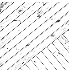 Striped Wooden Planks Background vector