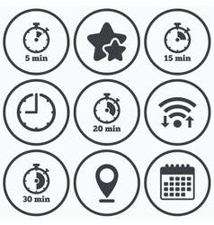 twenty minute clock vector images over 160