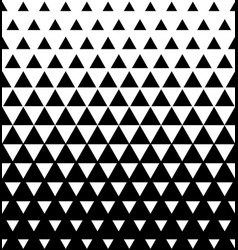 Halftone triangular pattern abstract vector