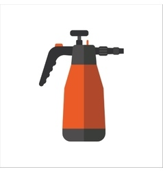 Watering sprayer isolated on white vector image vector image