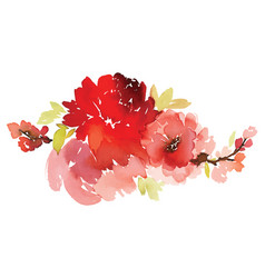 floral for greeting cards vector image vector image