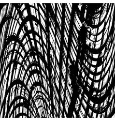Texture Abstract Wavy Grid vector image vector image