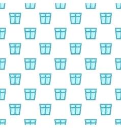 Window pattern cartoon style vector image vector image