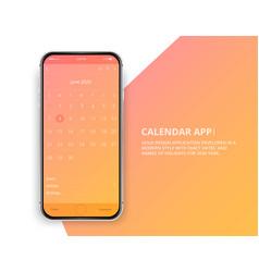 06-phone-june-app vector
