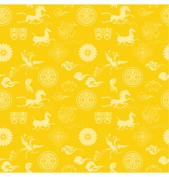 Chinese new year texture vector image