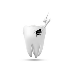 dental iconprotect tooth vector image
