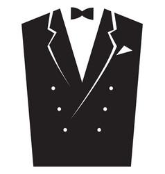 Elegant mens suits vector