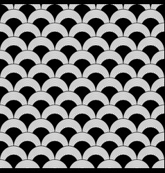 Geometric decorative with circles texture vector