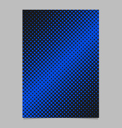 geometrical halftone circle background pattern vector image