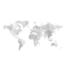 Stylized Map of World vector