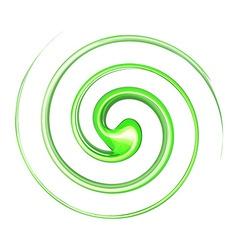 Vortex background green vector