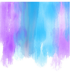 Watercolour paint strokes background vector