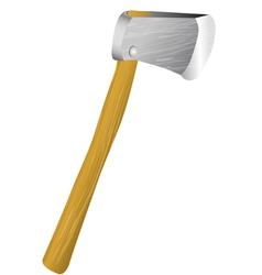 lumber axe vector image