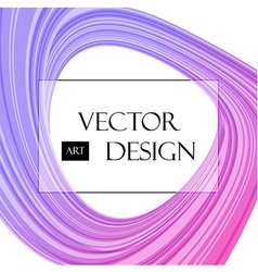 Purple abstraction on white vector image vector image