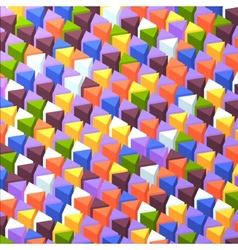 Abstrack triangular background vector image vector image