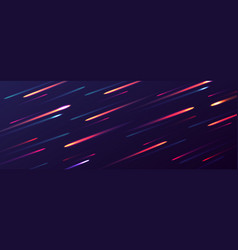 abstract dynamic background glowing dots in vector image
