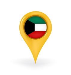 Location Kuwait vector