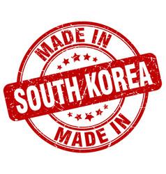 Made in south korea vector