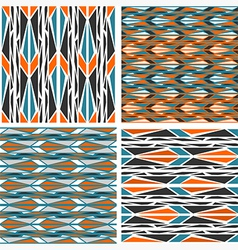 Seamless patterns Peafowl vector