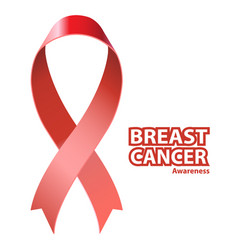 symbol breast cancer awareness vector image