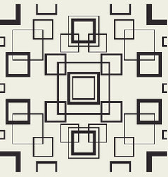 Tangle squares seamless pattern vector