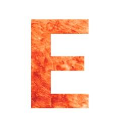 e land letter vector image vector image