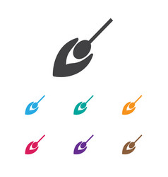 of travel symbol on match icon vector image