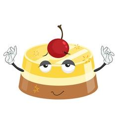 Cherry dessert vector image