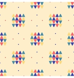 Geometric seamless pattern Ethnic textile minimal vector image