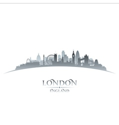 London England city skyline silhouette vector