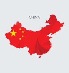 Map china vector