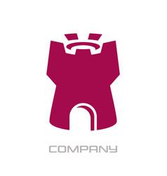 modern tower logo vector image
