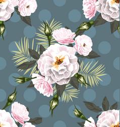 rose seamless pattern7 vector image