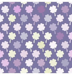 Seamless background with flower vector