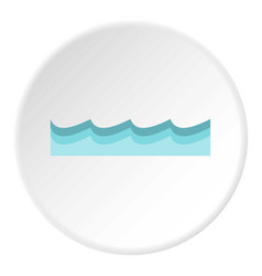 Water icon circle vector
