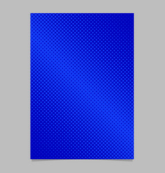 abstract halftone circle pattern background page vector image