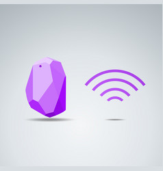 design beacon device home and office radar use vector image