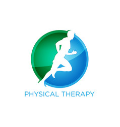 Physical therapy logo vector