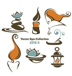 Spa collection vector