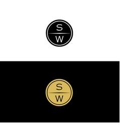 sw-logo vector image