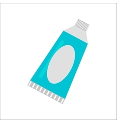 Tablet cream tube vector image