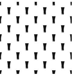 Uv tube cream pattern seamless vector